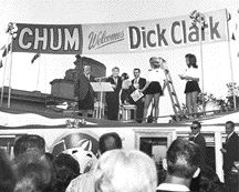 CHUM welcomes Dick Clark to the Canadian National Exhib...