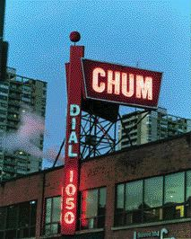 CHUM building in 1959